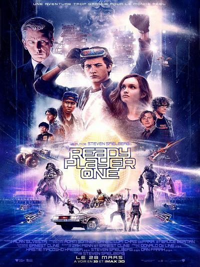 sortie vod, dvd et blu-ray Ready Player One