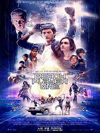 affiche sortie dvd ready player one