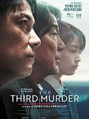 affiche sortie dvd the third murder