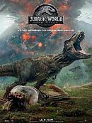affiche sortie dvd jurassic world 2 - fallen kingdom