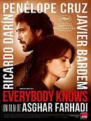 affiche sortie dvd everybody knows