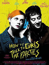 affiche sortie dvd How To Talk To Girls At Parties