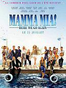 affiche sortie dvd Mamma Mia ! Here We Go Again