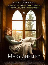 affiche sortie dvd Mary Shelley