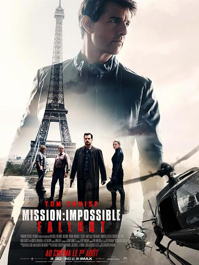 sortie vod, dvd et blu-ray Mission Impossible 6 - Fallout
