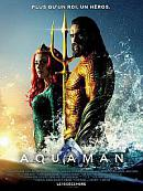 affiche sortie dvd Aquaman