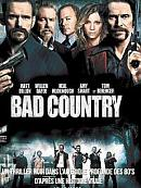 affiche sortie dvd Bad Country