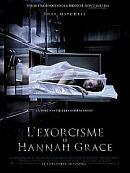 affiche sortie dvd l'exorcisme de hannah grace