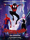 affiche sortie dvd Spider-Man - New Generation