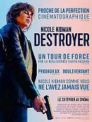 affiche sortie dvd Destroyer