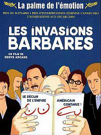affiche sortie dvd Les Invasions barbares