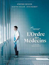 affiche sortie dvd l'ordre des medecins