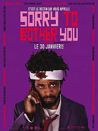 affiche sortie dvd sorry to bother you