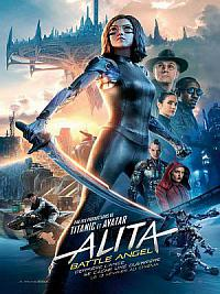 affiche sortie dvd Alita - Battle Angel