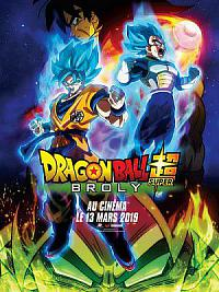 affiche sortie dvd dragon ball super - broly