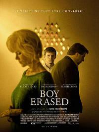 affiche sortie dvd boy erased