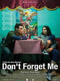 affiche sortie dvd don't forget me
