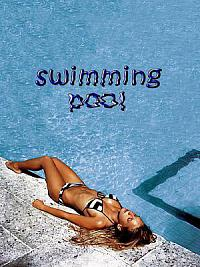 affiche sortie dvd Swimming Pool