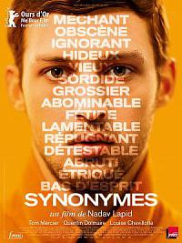 affiche sortie dvd synonymes