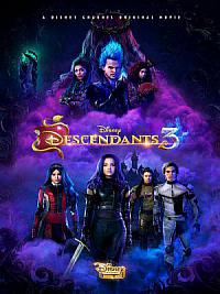 affiche sortie dvd descendants 3