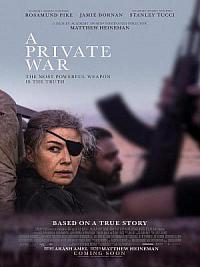 affiche sortie dvd private war