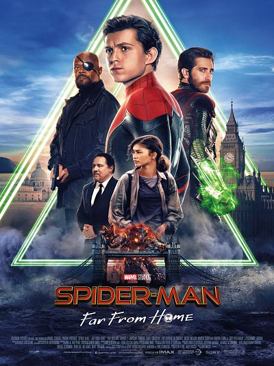 sortie vod, dvd et blu-ray Spider-Man - Far From Home