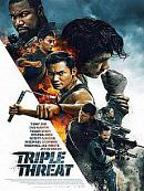 affiche sortie dvd triple threat