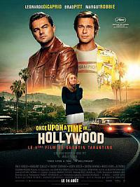 affiche sortie dvd once upon a time… in hollywood