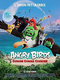affiche sortie dvd angry birds 2 - copains comme cochons