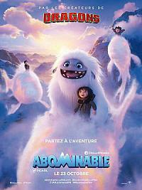 affiche sortie dvd abominable