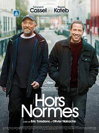 affiche sortie dvd Hors Normes