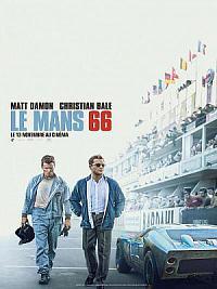 affiche sortie dvd le mans 66