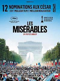 affiche sortie dvd les miserables