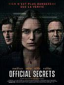 affiche sortie dvd official secrets