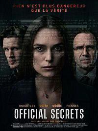 affiche sortie dvd official secrets
