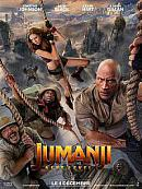 affiche sortie dvd Jumanji 3 - next level