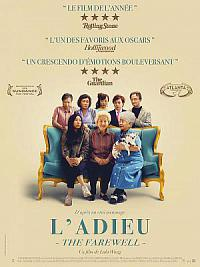 affiche sortie dvd l'adieu (the farewell)