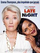 affiche sortie dvd Late Night