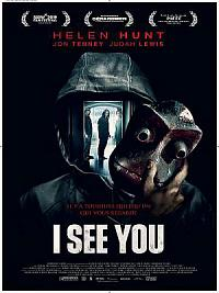 affiche sortie dvd i see you