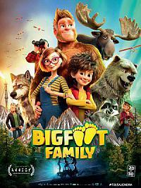 affiche sortie dvd bigfoot family