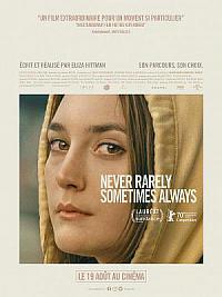 affiche sortie dvd never rarely sometimes always